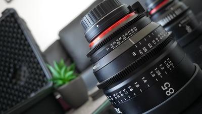 Xeen 85mm, 1,5 Blende Cinema-lens EF-Mount