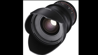Rokinon 24mm Prime Lens EF