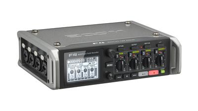 ZOOM F4 Audio-Recorder / -Mixer mit PortaBrace Tasche