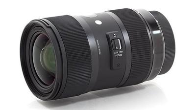 Sigma 18-35 mm F1,8 DC HSM (Filtergewinde 72mm) für Canon