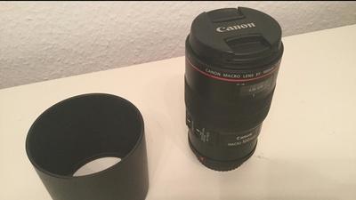 Canon 100mm Macro IS 2.8L