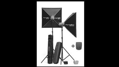 Elinchrome Studioblitze D-lite 4 it 2x400Ws