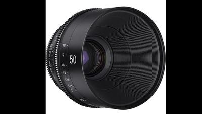 Xeen 50mm Prime Lens EF