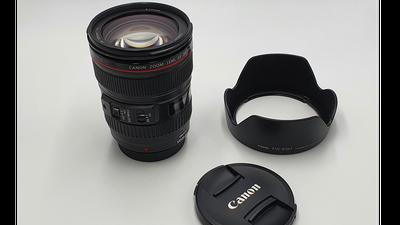 Canon Zoomobjektiv EF 24-105mm F4L IS USM