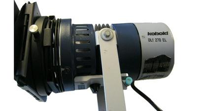 HMI Kobold DLF 270 / Tageslicht Open Face 250w