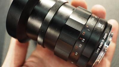 Voigtländer Nokton 25mm f/0.95 MFT