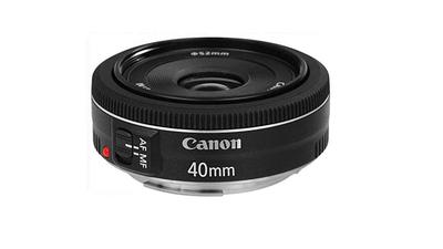 Canon Pancake Objektiv EF 40mm F2.8 STM