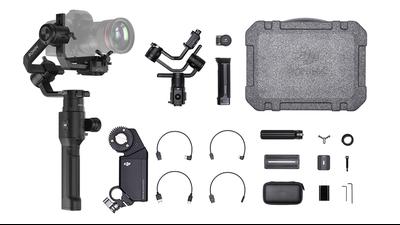 DJI Ronin-S 3-Axis-Gimbal + Focus Motor