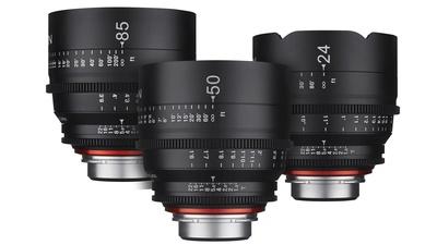 Xeen Prime Lens Set (24/50/85) EF