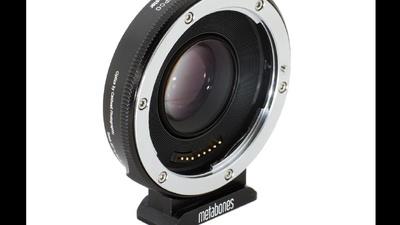 Speedbooster EF auf Blackmagic Pocket Cinema Camera BMPCC