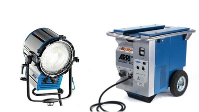 Arri D40 // 4000w hmi Tageslicht Stufenlinse