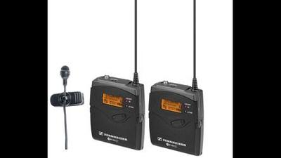 Sennheiser EW 100 G3 mit Lavaliermikrofon