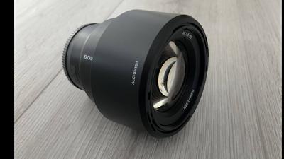 Sony 85 mm F 1.8 full frame e-mount