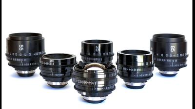 8 Set Canon FD (FD Mount) inkl. Adapter E-Mount