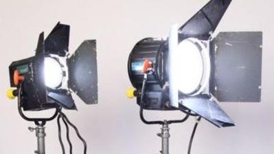 Set HMI / Strand Lighting Sirio 2,5kw und 575w Tageslicht