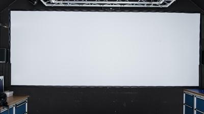 AV Stumpfl Leinwand 9x3m