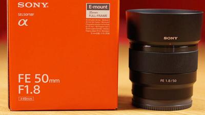 Sony FE 50mm 1.8f Vollformat E-Mount