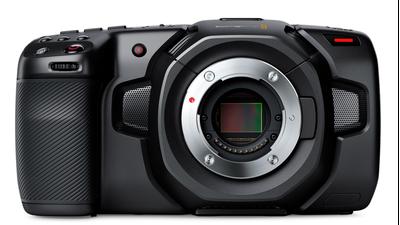 KIT: Blackmagic Pocket Cinema Camera 4k + 4 Akkus