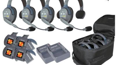 Eartec UltraLITE HD UL4S Wireless 4 Single Headset