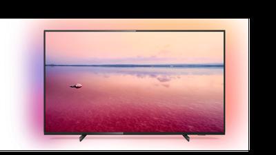 LED-Smart TV mit Loewe Design Ständer