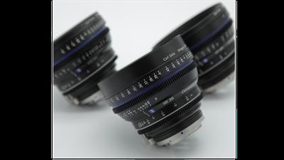 Optiken Set – Zeiss Compact Prime 35mm, 50mm, 85mm