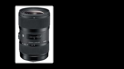 Sigma 18 mm – 35 mm f/1.8 DC, HSM (Objektiv für Canon EF-Mou