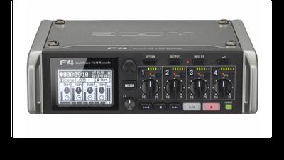 Zoom F4 Multitrack Fieldrecorder