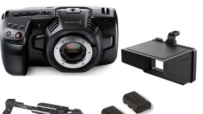 Blackmagic Pocket 4k Body Set