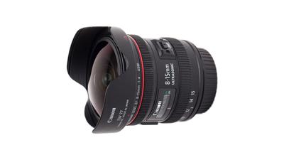 Canon EF 8-15mm 4.0 L Fisheye USM