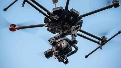 DJI M600 + Ronin MX und Pilot TAGESPREIS