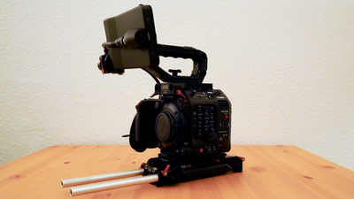 Canon EOS C500 II 6K Full Frame mit EF Mount in Vocas Set
