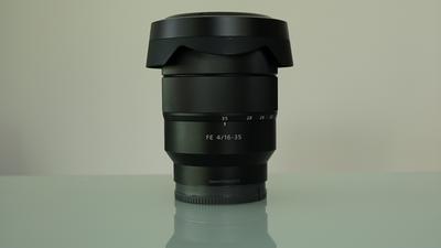 Sony E-Mount 16 - 35 mm F 4