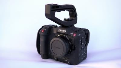 Canon C70 inkl. Akkus, Adapter EF-R und 128 GB SD Card