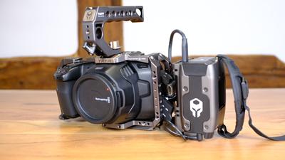 Blackmagic Bmpcc6k + Cage + SSD + Battery Grip