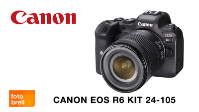 Canon EOS R6 Kit mit 24-105mm
