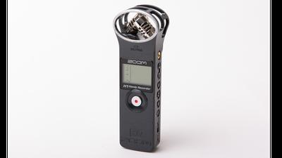 Zoom H1 - Kompakter Audiorekorder