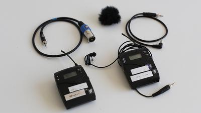 Sennheiser EW 100 G3 - Funkstrecke Set mit Lavalier