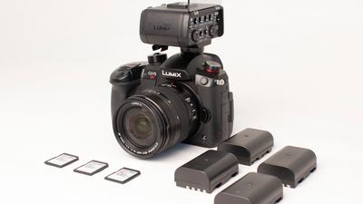 GH5s VJ Set (GH5s + Objektiv + Ton + Equipment)
