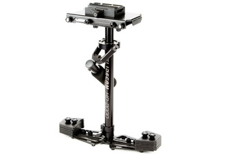 Glidecam HD 2000 mit Weste und Arm, zwei Powerbanks