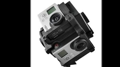 Freedom 360 GoPro-360°-Rig (6x GoPro)