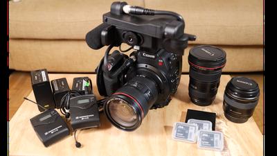 Canon C200 4K/60p RAW Bundle