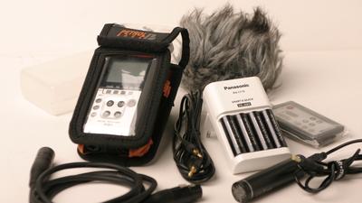 Zoom H4n Audiorecorder inkl. Zubehör-Pack
