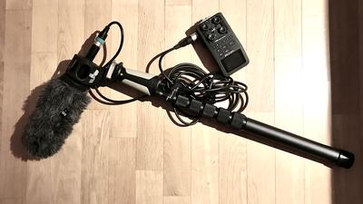 EB-Soundkit Zoom H6 Recorder, Sennheiser MKE600, K-Tek Boom