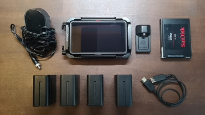 Atomos Ninja V + 1x 1TB SSD + 4 Akkus + Ladegerät + Netzeil