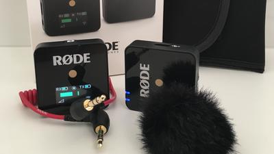 Rode Wireless Go, Funkstrecke