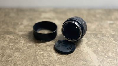 ZEISS 50mm f1.4 ZE Canon EF / mit Tilta Gear Ring / Planar T