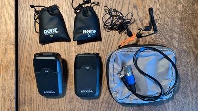 RODE RodeLink Filmmaker Kit Funkstrecke + Smartlav+ Micro