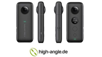 Insta 360 One X - 360° Foto / Videokamera mit Zubehör