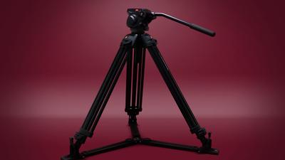 120D II, 2x 190WH Vmount, HD 501 Stativ, Rayzr MC 400 Max