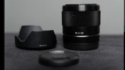 Sony FE 28mm F2 E-Mount Objektiv